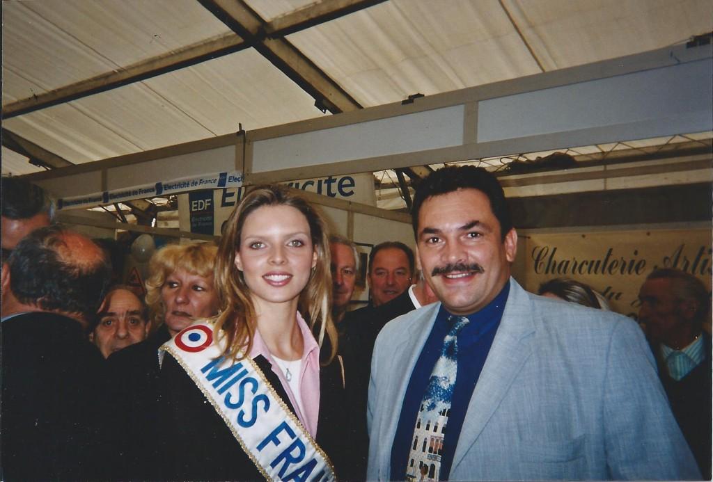 phiphi et miss france Sylvie Tellier